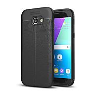 Kılıf Na Samsung Galaxy A5(2017) A3(2017) Odporne na wstrząsy Etui na tył Solid Color Miękkie Silikon na A3 (2017) A5 (2017)