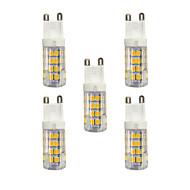 3W LED betűzős izzók T 51 SMD 2835 240 lm Meleg fehér Fehér AC 220-240 V G9