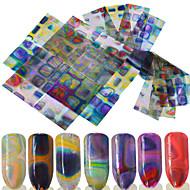 ieftine -16 Nail Art autocolant Αξεσουάρ 3-D Consumabile DIY Autocolant machiaj cosmetice Nail Art Design