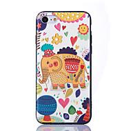 Für iPhone X iPhone 8 Hüllen Cover Ultra dünn Geprägt Muster Rückseitenabdeckung Hülle Elefant Weich TPU für Apple iPhone X iPhone 8 Plus