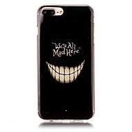 Недорогие Кейсы для iPhone 8 Plus-Кейс для Назначение Apple iPhone X iPhone 8 Ультратонкий С узором Кейс на заднюю панель Halloween Мягкий ТПУ для iPhone X iPhone 8 Pluss