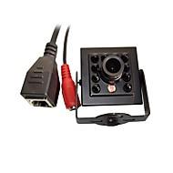 お買い得  -720p 1.0mp onvif cctv ipカメラhi3518e IRナイトビジョン1/4 h62 CMOSミニ940nm 10pcs leds