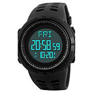 Недорогие Мужские часы-SKMEI Муж. электронные часы Наручные часы Спортивные часы Японский Цифровой Будильник Календарь Секундомер Защита от влаги LED Педометры