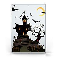 Voor iPad (2017) Hoesje cover Transparant Patroon Achterkantje hoesje Transparant Halloween Zacht TPU voor Apple IPad Pro 10.5 iPad