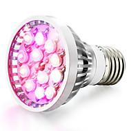 12W E14 GU10 E26/E27 LED-vækstlampe 12 Højeffekts-LED 290-330 lm Naturlig hvid Rød Blå UV Vekselstrøm 85-265 V 1 stk.