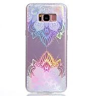 Etui Til Samsung Galaxy S8 Plus S8 Belægning IMD Mønster Bagcover Mandala-mønster Blødt TPU for S8 S8 Plus S7 edge S7