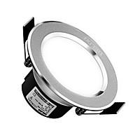 billige Nedlys-1pc 3w led downlight celing light varm hvid / hvid ac220v 3000 / 6000k størrelse hul 90mm strålevinkel 120 160lm