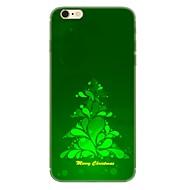 Недорогие Кейсы для iPhone 8 Plus-Кейс для Назначение Apple iPhone X iPhone 8 С узором Кейс на заднюю панель Рождество Мягкий ТПУ для iPhone X iPhone 8 Pluss iPhone 8