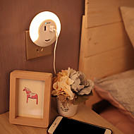 1set Infrarood Sensor Licht controle Opladers LED Night Light USB Lights-0.5W-AC
