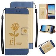 hordtáska kártyatartó pénztárca állvánnyal flip minta teljes karosszéria tok kemény pu bőr Samsung samsung galaxis 8 megjegyzés 5