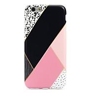 Назначение iPhone 7 iPhone 7 Plus Чехлы панели Ультратонкий С узором Задняя крышка Кейс для Геометрический рисунок Мягкий Термопластик для