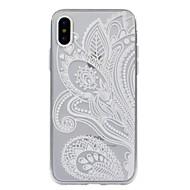 Назначение iPhone X iPhone 8 Plus Чехлы панели С узором Задняя крышка Кейс для Мандала Кружева Печать Мягкий Термопластик для Apple
