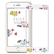 Закаленное стекло Защитная плёнка для экрана для Apple iPhone 8 Защитная пленка на всё устройство HD Узор 3D закругленные углы
