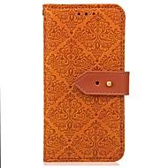 Недорогие Чехлы и кейсы для Galaxy Note 8-Кейс для Назначение SSamsung Galaxy Note 8 / Note 5 Кошелек / Бумажник для карт / со стендом Чехол Однотонный Твердый Кожа PU для Note 8 / Note 5 / Note 4