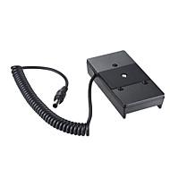 andoer camera batterijvoedingsadapter met 1/4 schroef voor bmcc bmpcc voor sony bp-u60 / u30 batterij