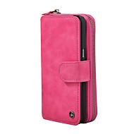 Недорогие Чехлы и кейсы для Galaxy Note-Кейс для Назначение SSamsung Galaxy Note 8 Кошелек / Бумажник для карт / Флип Чехол Однотонный Твердый Кожа PU для Note 8