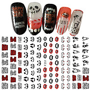 cheap Makeup & Nail Care-1pcs 3D Nail Stickers Sticker DIY Supplies New Year 3-D Fashion Daily High Quality