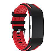 Недорогие Аксессуары для смарт-часов-Ремешок для часов для Fitbit Charge 2 Fitbit Спортивный ремешок Современная застежка силиконовый Повязка на запястье
