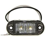 Недорогие Внешние огни для авто-SENCART Автомобиль / Мотоцикл / Грузовик Лампы 1W Dip LED 90lm 2 Внешние осветительные приборы For Универсальный Все года