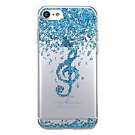 Назначение iPhone 8 iPhone 8 Plus Чехлы панели С узором Задняя крышка Кейс для Мультипликация Мягкий Термопластик для Apple iPhone 8 Plus