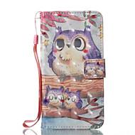 Назначение iPhone X iPhone 8 iPhone 8 Plus Чехлы панели Кошелек Бумажник для карт со стендом Флип Чехол Кейс для Сова Твердый