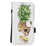 Назначение iPhone 7 iPhone 7 Plus Чехлы панели Кошелек Бумажник для карт со стендом С узором Чехол Кейс для Черепа Фрукты Твердый