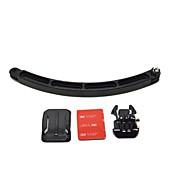 3ウェイ調整可能なピボットアーム 屋外 力調節可 オールインワン, のために-アクションカメラ,ゴプロ6 すべてのアクションカメラ フリーサイズ Xiaomi Camera Gopro 5 ThiEYE I60 SJCAM SJ4000 ロードバイク サイクリング/バイク