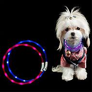 olcso LED éjszakai világítás-Dekorációs lámpa LED nyaklánc LED éjszakai fény-3W-USB Cuttable Újratölthető Vízálló Dekoratív - Cuttable Újratölthető Vízálló Dekoratív