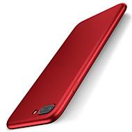 Til iPhone 7 iPhone 7 Plus Etuier Ultratyndt Refleksbælte Bagcover Etui Helfarve Blødt Silikone for Apple iPhone 7 Plus iPhone 7 iPhone