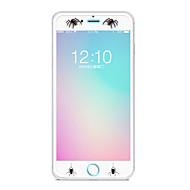 Недорогие Защитные плёнки для экрана iPhone-Защитная плёнка для экрана Apple для iPhone 8 Закаленное стекло 1 ед. Защитная пленка для экрана Узор Взрывозащищенный Уровень защиты 9H