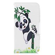 Назначение iPhone X iPhone 8 Чехлы панели Кошелек Бумажник для карт со стендом Чехол Кейс для Панда Твердый Искусственная кожа для Apple
