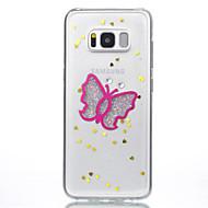 Кейс для Назначение SSamsung Galaxy S8 Plus S8 С узором Задняя крышка Бабочка Мягкий Силикон для S8 S8 Plus S7 edge S7