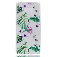чехол для Samsung примечание 8 покрытие светится в темноте задняя крышка чехол цветок мягкий tpu