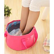 お買い得  収納&整理-繊維 プラスチック 楕円形 防水ポーチ パータブル 旅行 ホーム 組織, 1個 ランドリーバッグ&バスケット