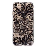 Назначение iPhone 7 iPhone 7 Plus Чехлы панели IMD С узором Задняя крышка Кейс для Кружева Печать Мягкий Термопластик для Apple iPhone 7