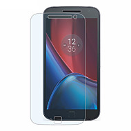 voordelige Screenprotectors voor Motorola-Screenprotector voor Motorola Moto G4 Plus Gehard Glas Voorkant screenprotector High-Definition (HD) 9H-hardheid 2.5D gebogen rand
