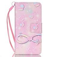 olcso iPod tokok-Case Kompatibilitás iTouch 5/6 Pénztárca Kártyatartó Állvánnyal Flip Minta Héjtok PU bőr Kemény
