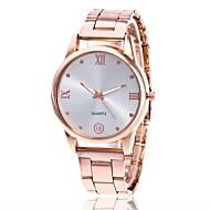 Недорогие Мужские часы-Муж. Жен. Наручные часы Нарядные часы Китайский Кварцевый Повседневные часы Металл Группа Кулоны Серебристый металл Золотистый Розовое