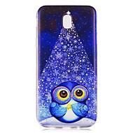 olcso Galaxy J1 tokok-Case Kompatibilitás Samsung Galaxy J5 (2017) J3 (2017) Minta Fekete tok Bagoly Puha TPU mert J5 (2017) J5 (2016) J5 J3 (2017) J3 (2016)