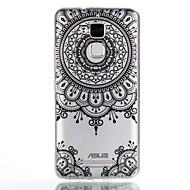 お買い得  携帯電話ケース-ケース 用途 Asus パターン バックカバー 曼荼羅 ソフト TPU のために Asus Zenfone 3 Max ZC520TL