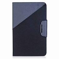 preiswerte Tablet Zubehör-Hülle Für Samsung Galaxy Ganzkörper-Gehäuse Tablet-Hüllen Einfarbig Volltonfarbe Hart PU-Leder für Tab A 10.1 (2016)