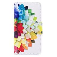 Case Kompatibilitás Samsung Galaxy J7 (2017) J3 (2017) Pénztárca Kártyatartó Állvánnyal Flip Minta Teljes védelem Virág Kemény Műbőr Bőr