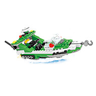 cheap Toys & Hobbies-Building Blocks Helicopter Toys Ship Helicopter Nautical Military Kids Boys 300 Pieces