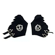 Rękawiczki Zainspirowany przez Fullmetal Alchemist Edward Elric Anime Akcesoria do Cosplay Stop cynku Skóra PU/Skóra poliuretanowa Dla