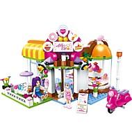 Bouwblokken Speeltjes Huis cafe Stad DHZ Klassiek Nieuw Design Volwassenen Meisjes 277 Stuks