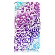 Кейс для Назначение SSamsung Galaxy J7 (2017) J3 (2017) Кошелек Бумажник для карт со стендом Флип С узором Чехол Цветы Твердый