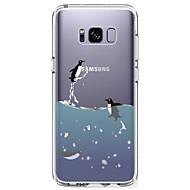 billige Galaxy S4 Etuier-Etui Til Samsung Galaxy S8 Plus S8 Ultratyndt Transparent Mønster Bagcover Dyr Blødt TPU for S8 S8 Plus S7 edge S7 S6 edge plus S6 edge