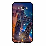 Case Kompatibilitás Samsung Galaxy Minta Hátlap city View Puha TPU mert J7 V J7 Perx J7 (2016) J7 (2017) J7 J5 (2016) J5 (2017) J5 J3