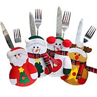 お買い得  -動物 抽象風 Snowmen Santa スノーフレーク柄 カジュアル 文字 ホリデー クリスマス 新年Forホリデーデコレーション