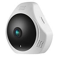お買い得  -SANNCE 1.3 MP 屋内 with 赤外線カット 64(デイナイト モーション検出 リモートアクセス プラグアンドプレイ ワイファイ・プロテクテッド・セットアップ(WPS) IRカット) IP Camera